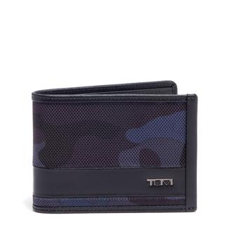 DOUBLE BILLFOLD nvy cam/bk - medium | Tumi Thailand