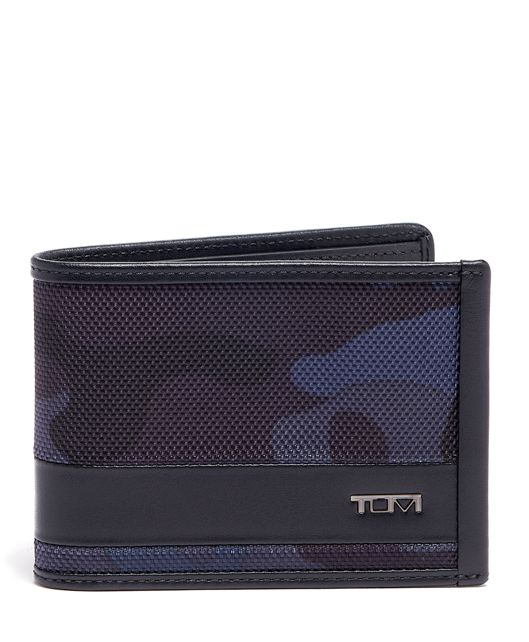 DOUBLE BILLFOLD Nvy Cam/Bk - large | Tumi Thailand