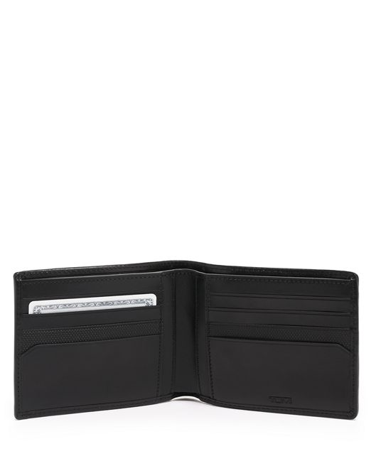 GLOBAL DOUBLE BILLFOLD Black - large | Tumi Thailand