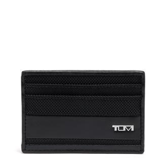 SLIM CARD CASE black - medium | Tumi Thailand