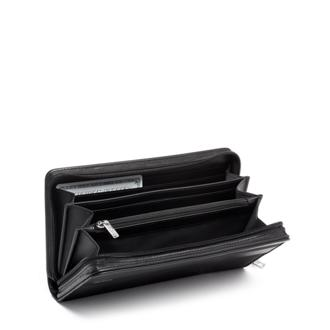 ZIP-AROUND TRAVEL WALLET black - medium | Tumi Thailand