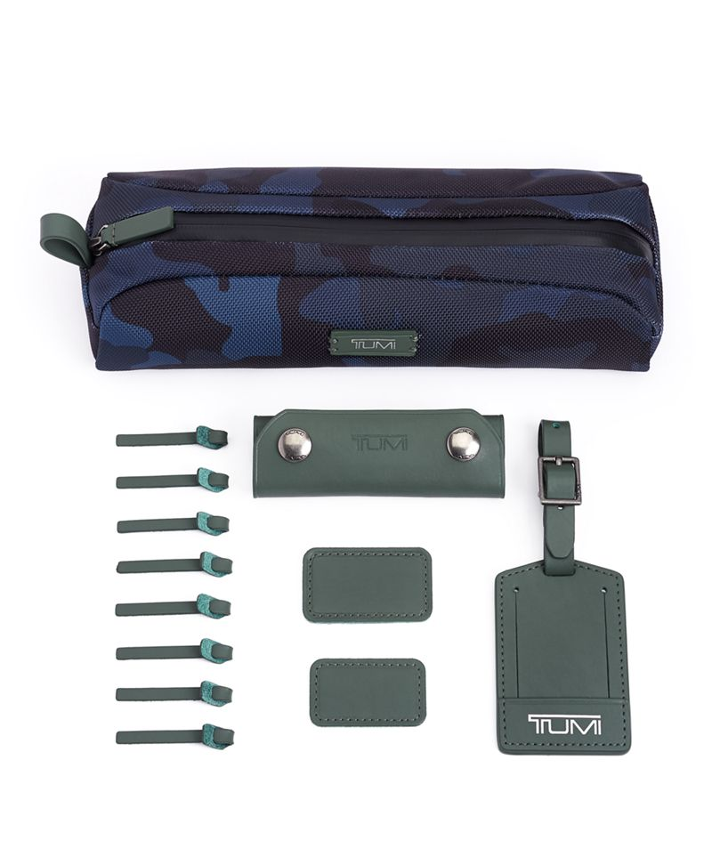 Navy  Camo TUMI Accents Kit