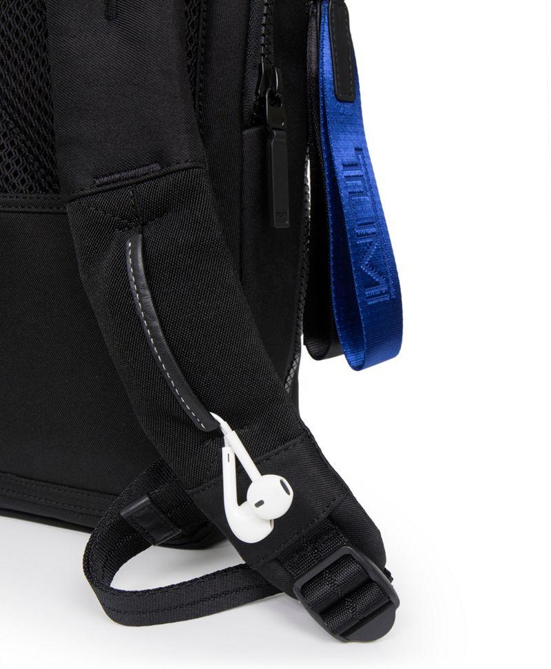 Black/Translucent Nottaway Backpack