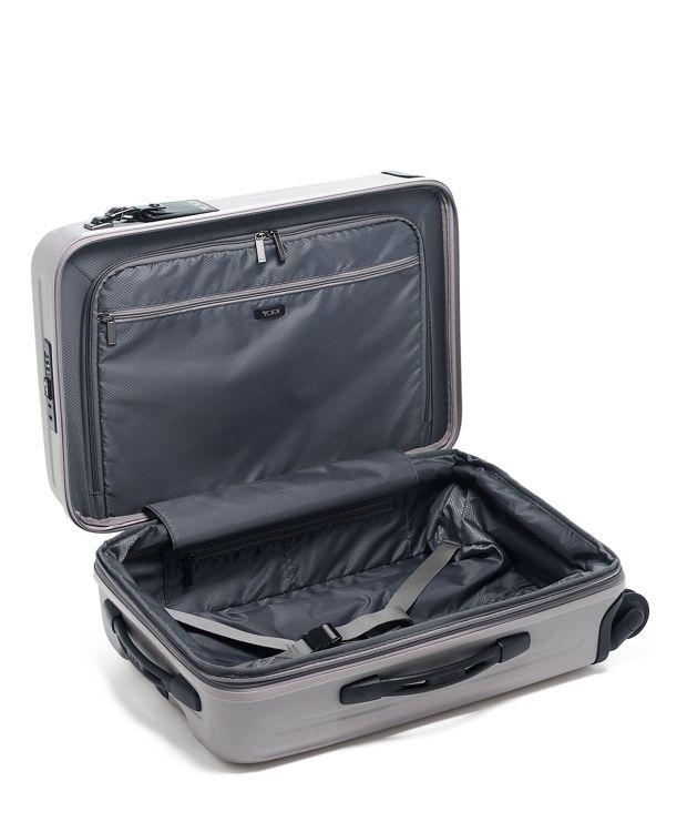 太空灰可擴充國際四輪手提行李箱