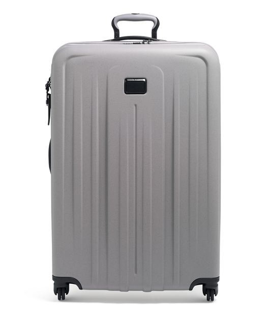 Soft  Grey Extended Trip Expandable 4 Wheeled Packing Case