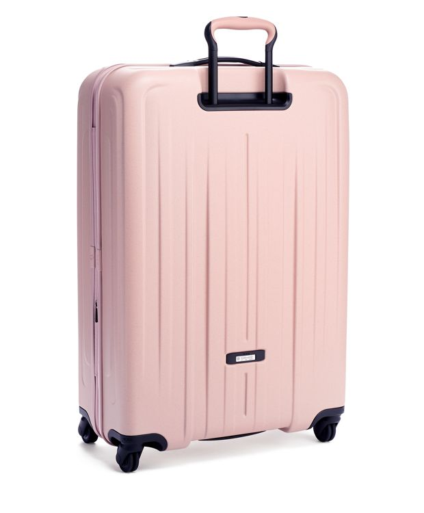 Pastel  Pink Extended Trip Expandable 4 Wheeled Packing Case