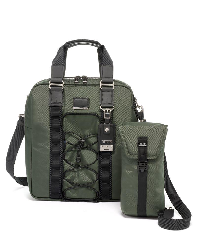 雲杉綠Cadet 二合一手提袋