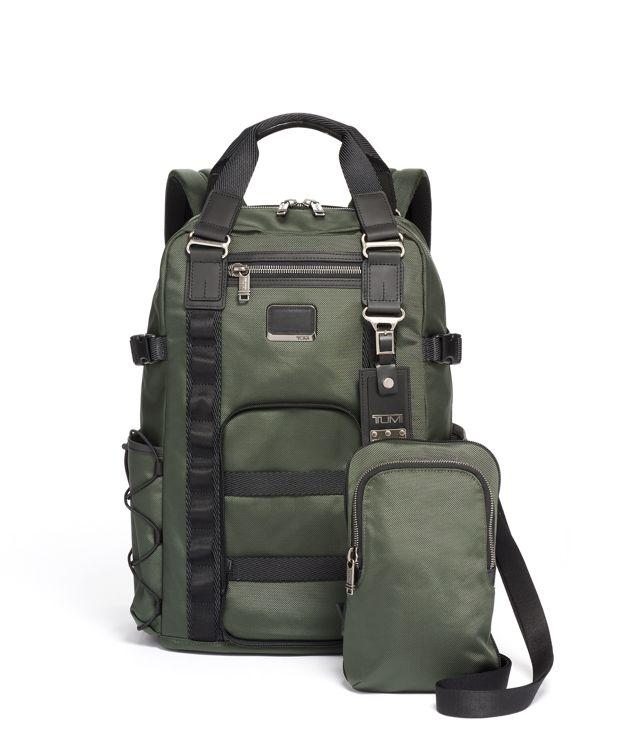 雲杉綠Barracks 二合一兩用手提袋背囊