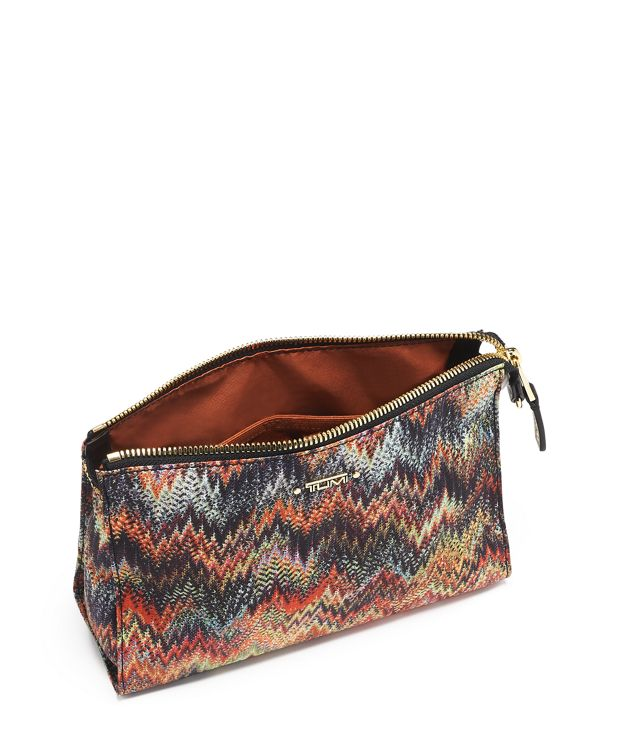 Snake  ZigZag Basel Small Triangle Pouch