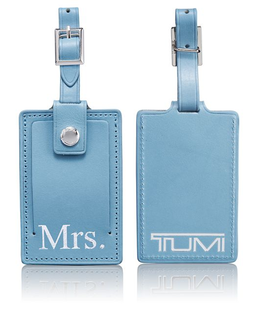 Mrs. Luggage Tag in Sky