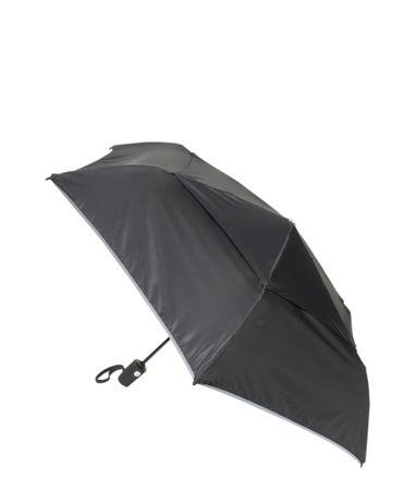 Medium Auto Close Umbrella in Black