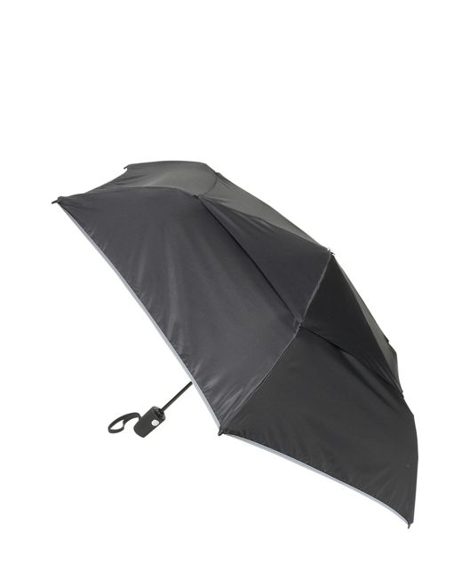 Medium Auto Close Umbrella in Black