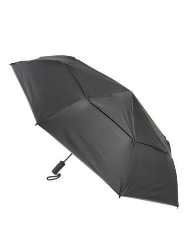 Large Auto Close Umbrella in Black