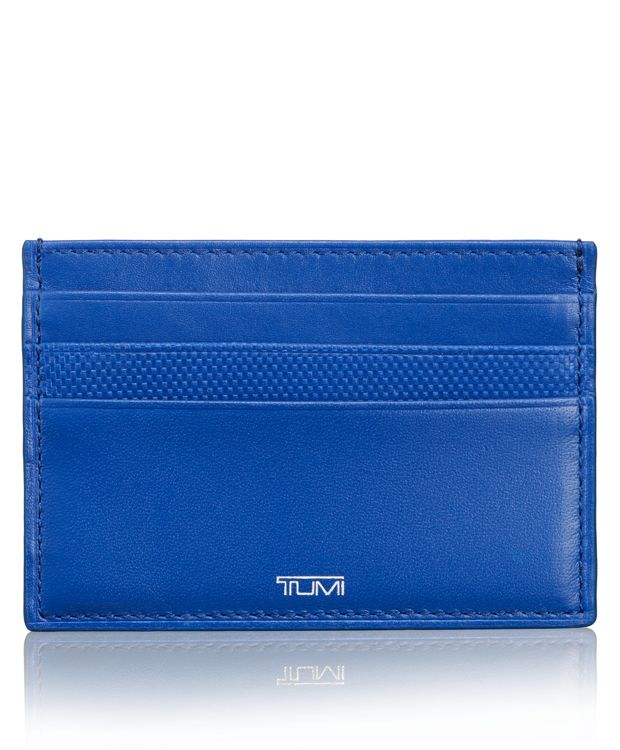 Card Leather Case in Atlantic