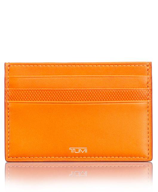 Card Leather Case in Sunrise