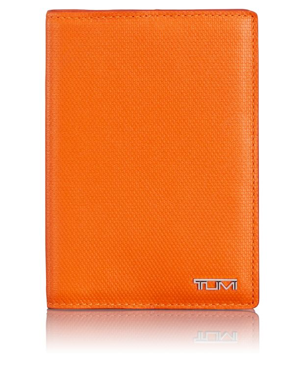 Passport Leather Cover in Sunrise
