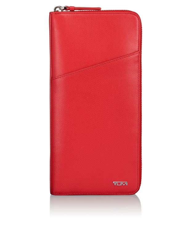 Travel Wallet in Red
