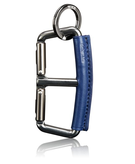 Carabiner Key Fob in Blue