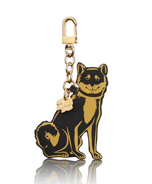 Year Of The Dog Key Fob in Black