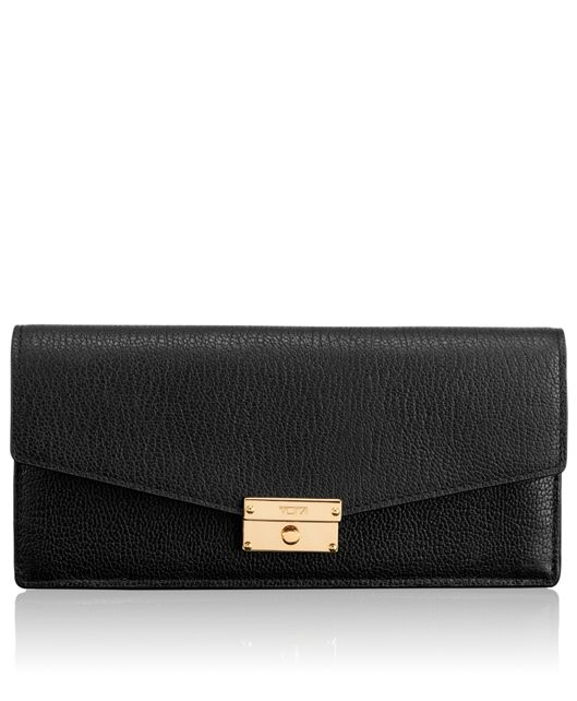 Envelope Wallet in Black