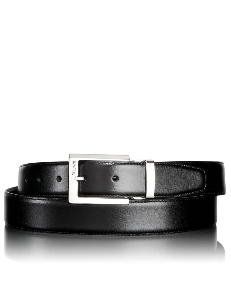 Polished Harness Reversible Belt