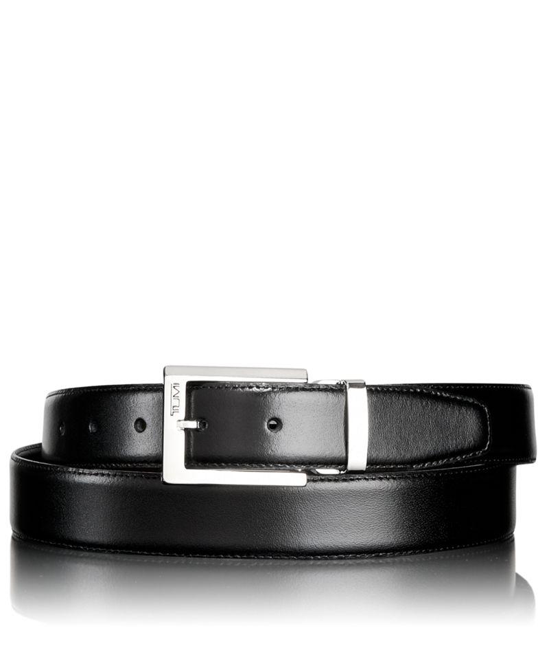 Polished Harness Reversible Belt