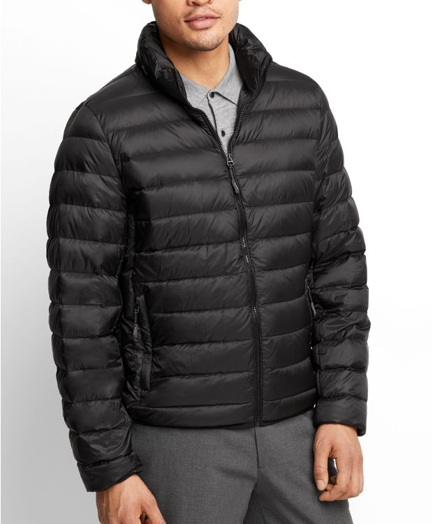 Patrol Packable Travel Puffer Jacket in Black