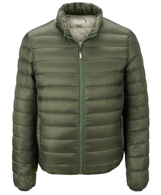 Patrol Packable Travel Puffer Jacket in Moss