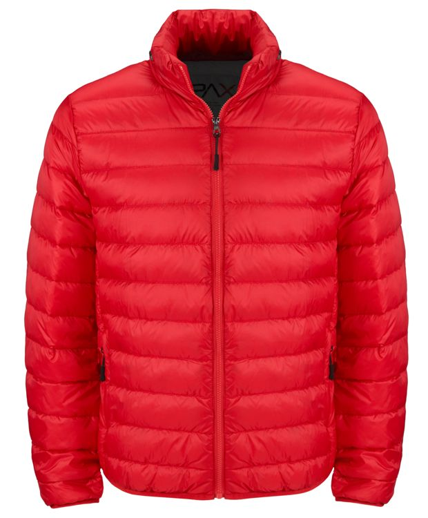 Patrol Packable Travel Puffer Jacket in Red