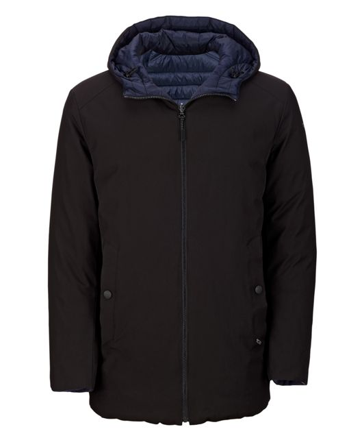 TUMI Pax Men's Mission Coat in Black/Navy