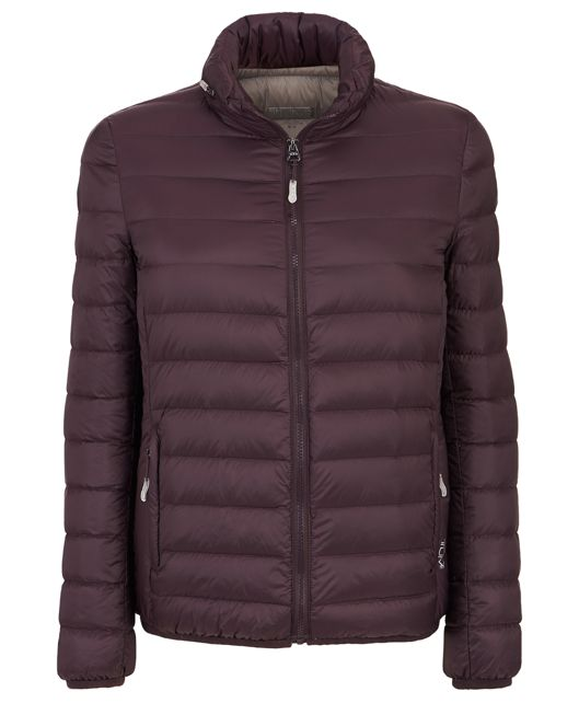 Women's - Clairmont Packable Travel Puffer Jacket in Blackberry