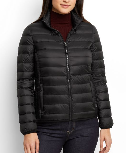 Women's - Clairmont Packable Travel Puffer Jacket in Black