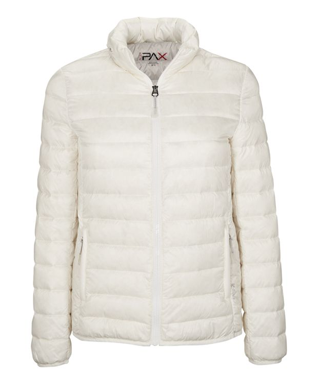 Women's - Clairmont Packable Travel Puffer Jacket in Soft Ivory