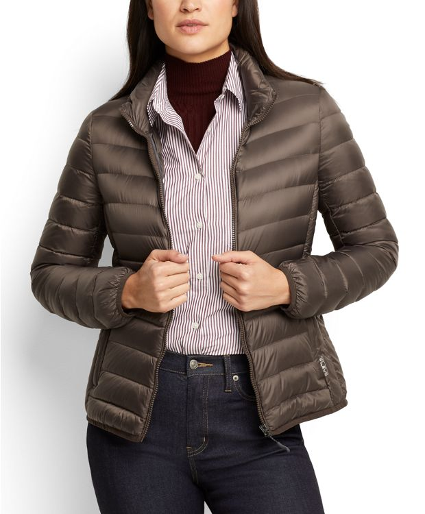 Women's - Clairmont Packable Travel Puffer Jacket in MINK