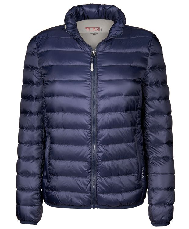 Women's - Clairmont Packable Travel Puffer Jacket in Navy