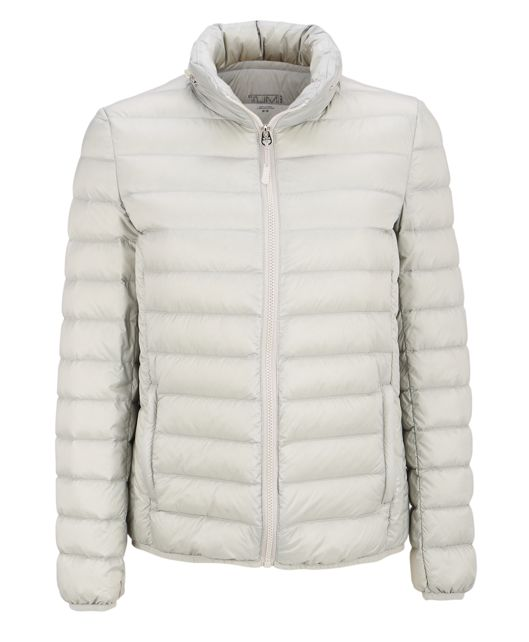 Women's - Clairmont Packable Travel Puffer Jacket in Platinum
