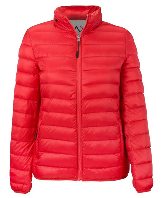 Women's - Clairmont Packable Travel Puffer Jacket in Red