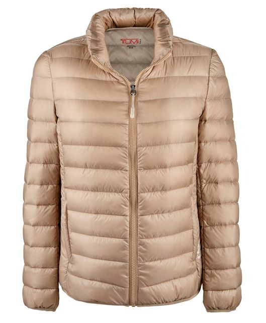 Women's - Clairmont Packable Travel Puffer Jacket in Sand