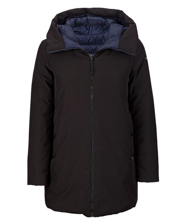 TUMI PAX Women's Mission Coat in Black/Navy
