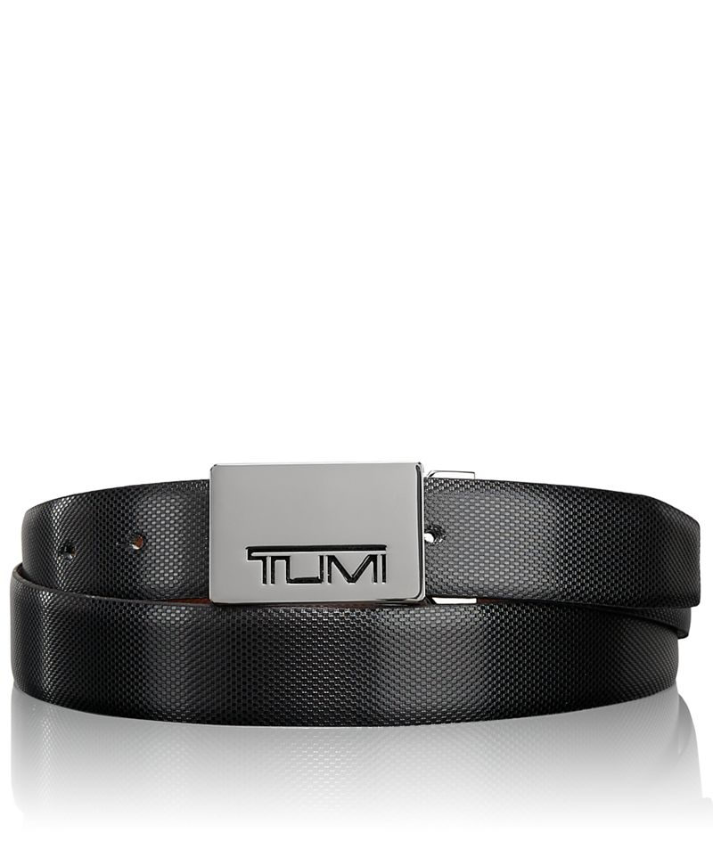 Tumi Stencil Plaque Reversible Belt