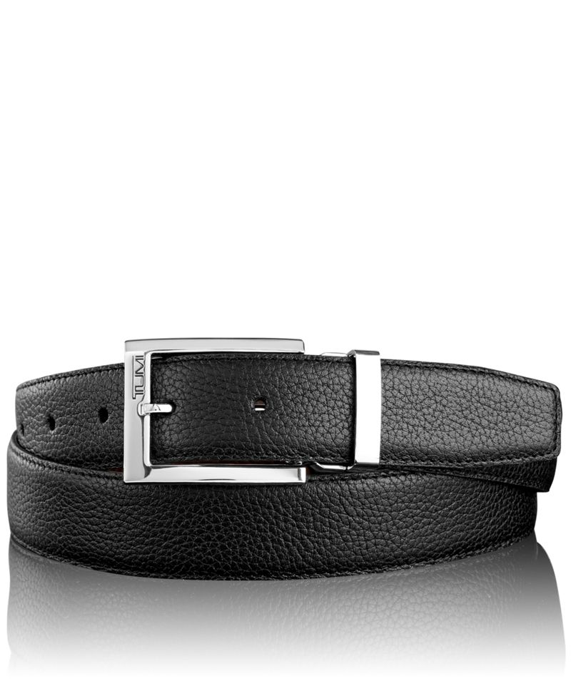 Pebbled Harness Reversible Belt