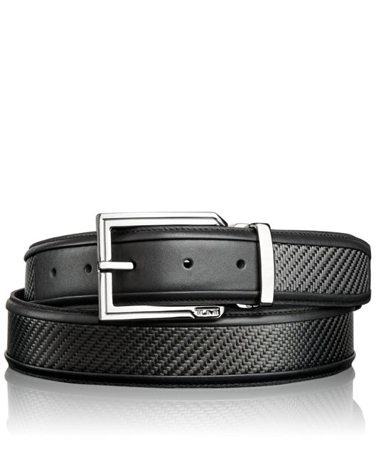 Carbon Fiber Belt in Gunmetal/Carbon