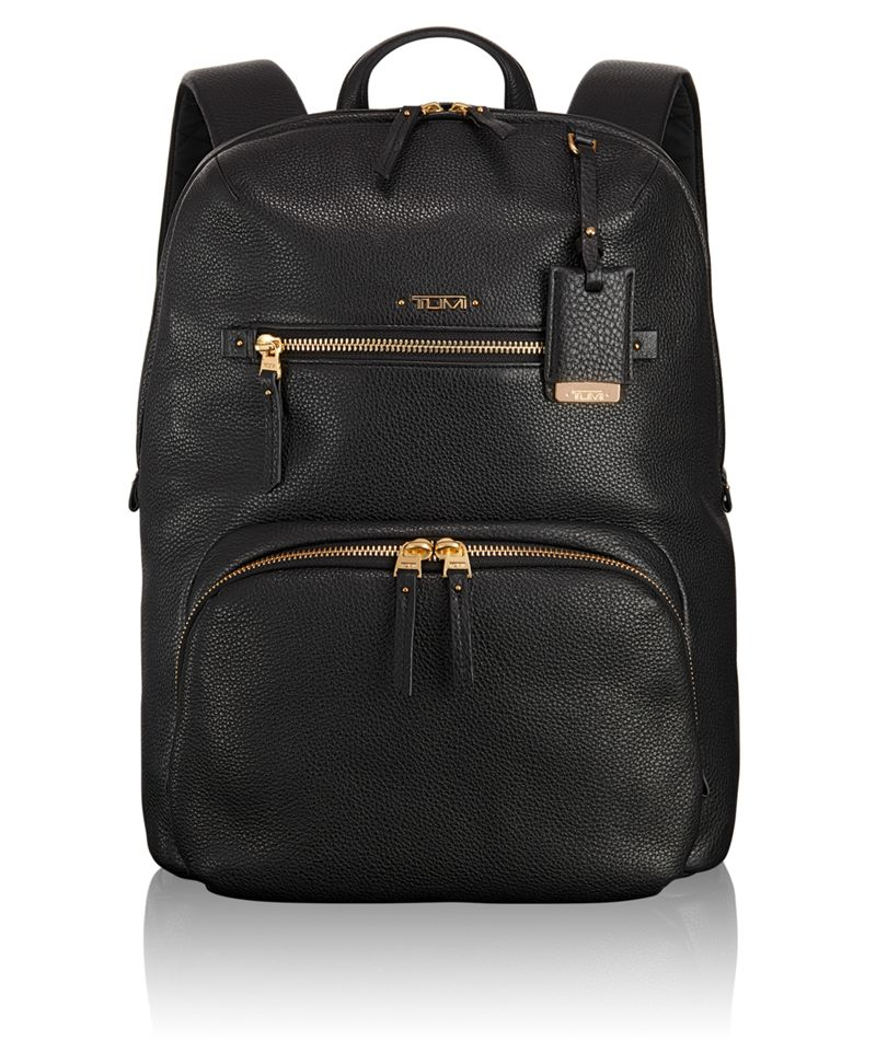 Halle Leather Backpack - Voyageur | TUMI United States