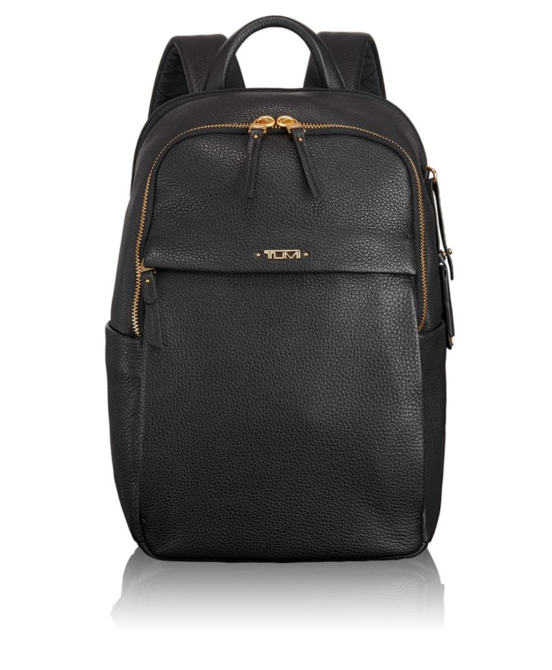 Daniella Small Leather Backpack - Voyageur | TUMI United States