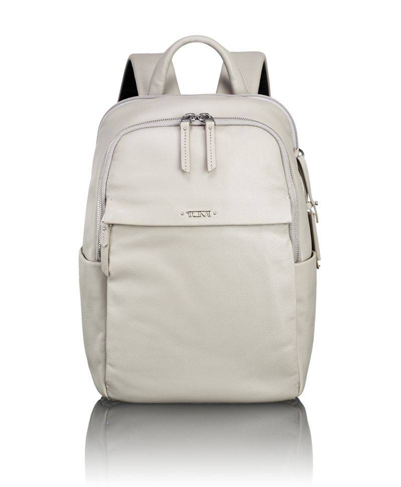 Daniella Small Leather Backpack - Voyageur - Tumi United States