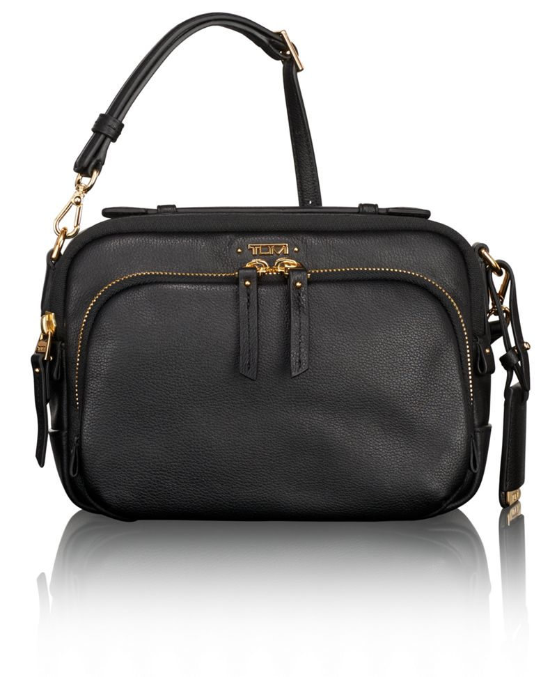 Luanda Leather Flight Bag