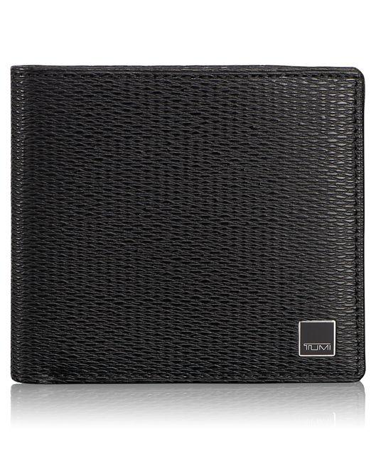 Global Center Flip ID Passcase in Black