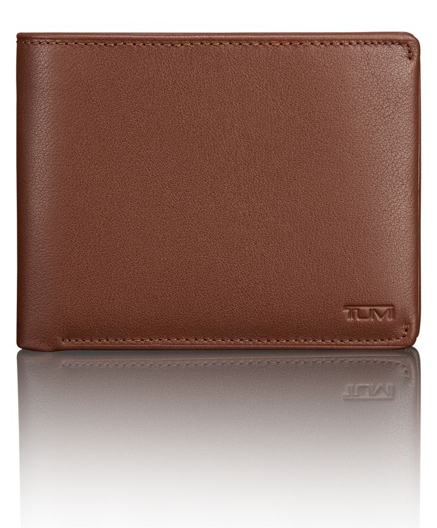 TUMI ID Lock™ Global Removable Passcase in Brown Textured