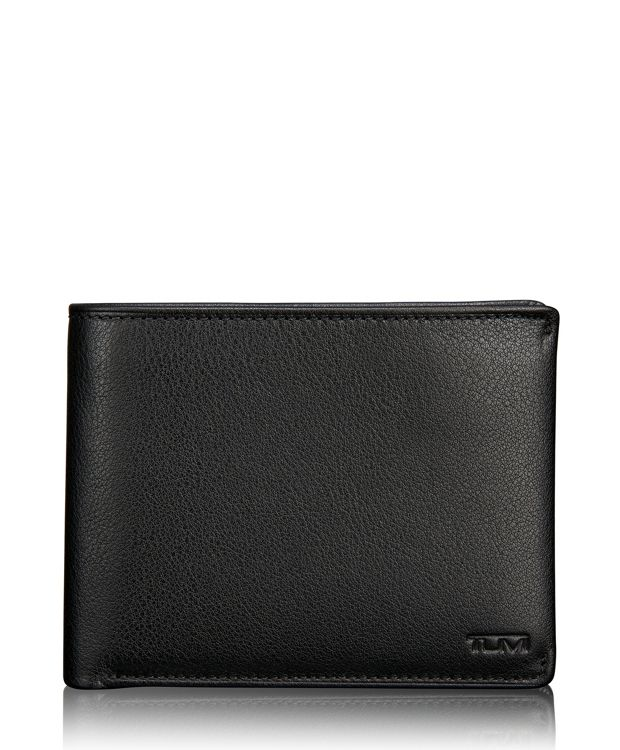 TUMI ID Lock™ Global Removable Passcase in Black Textured