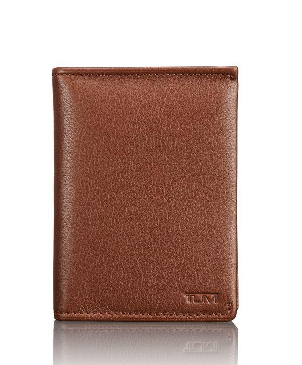 TUMI ID Lock™ L-Fold in Brown Textured